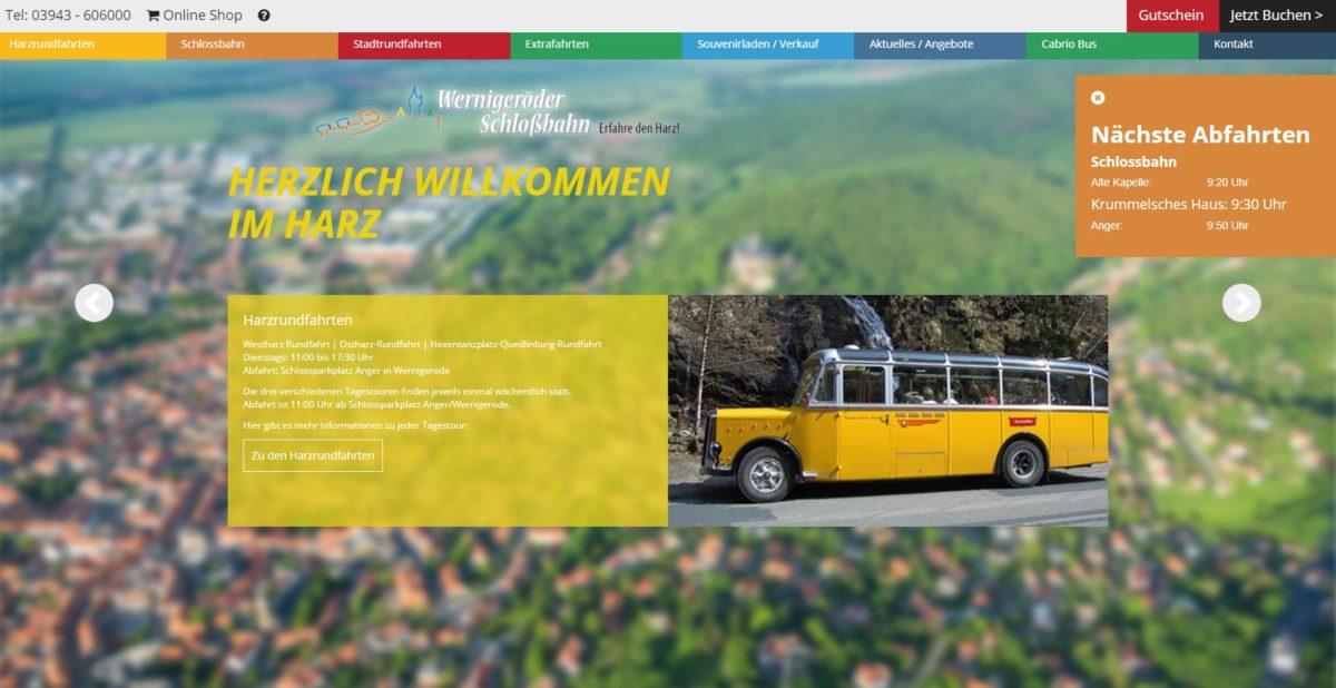 Schlossbahn Wernigerode & Harzrundfahrten